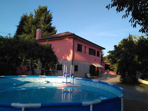 Villa With 5 Bedrooms in Valença, With Wonderful Mountain View, Private Pool and Enclosed Garden
