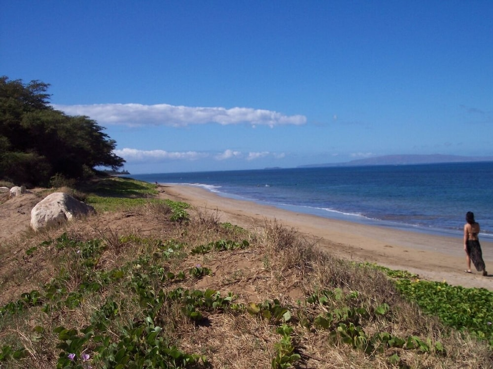 Beach, Kihei - Tropical Cottage Across From the Beach - Permit # Stkm 2015/0003