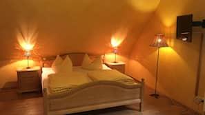 5 Schlafzimmer, Zimmersafe, Bügeleisen/Bügelbrett, WLAN