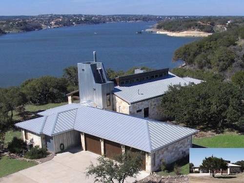 Luxurious Lake Travis Waterfront, $1 Million Views, Austin, Pool, Boat Dock