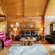 Escape to Paradise in This Beautiful log Home in a Country Setting