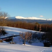 A Wonderful Getaway With Stunning Views of Mt. Washington set on Over 40 Acres