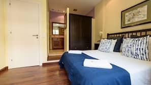 2 Schlafzimmer, Reisekinderbett, kostenloses WLAN