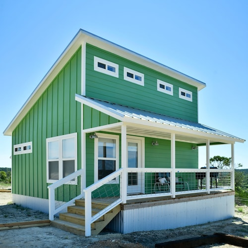 Tiny House Living In The Texas Hill Country The Green Casita At