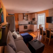 Family & Freelance Apartment in the Center of Ski Amadé