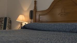 Een kluis op de kamer, verduisterende gordijnen, gratis babybedden