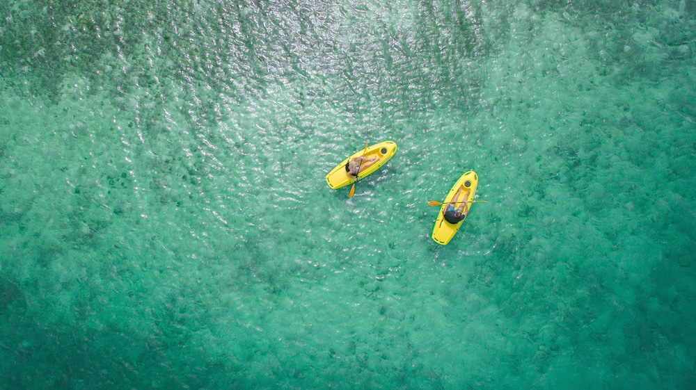 Kayaking, Ambergris Cay – ALL-INCLUSIVE, Private Island, Air Transfers Included