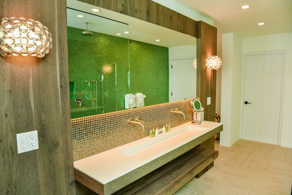 Bathroom Sink, Ambergris Cay – ALL-INCLUSIVE, Private Island, Air Transfers Included