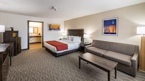 1 bedroom, pillowtop beds, in-room safe, desk