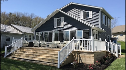 Stunning Lake Front Home & Everything is New! Direct Access to Nettle Lake!