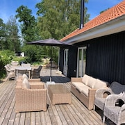 Lovely Swedish Wooden House in Southern Sweden