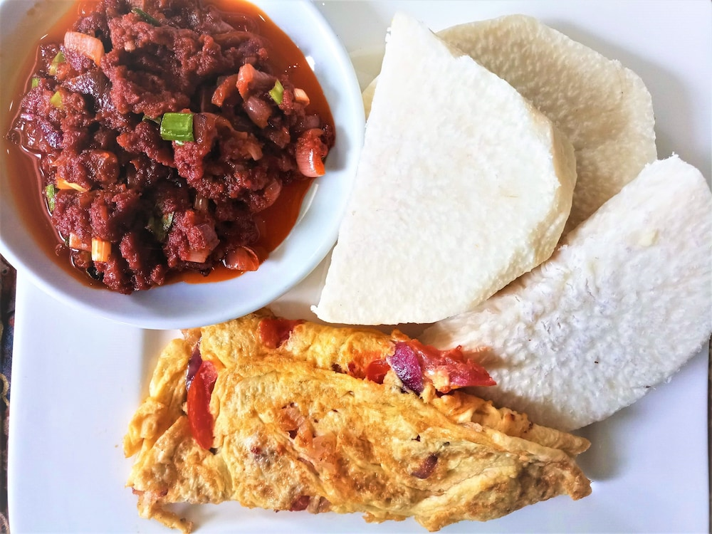 Breakfast Meal, Jam-Bed Hotel and Suites Abeokuta