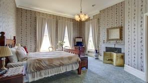 Individually decorated, individually furnished, rollaway beds