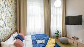 Allergivenligt sengetøj, pengeskab med plads til bærbar computer