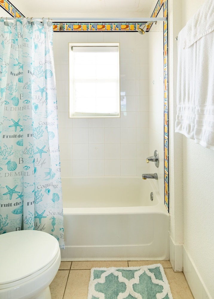 Bathroom, Magnificent Ocean Views- 2 Bedroom Beachfront Condo at The Reef Resort?