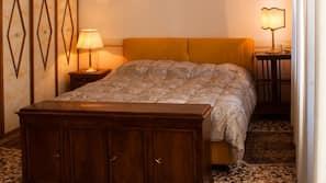 2 bedrooms, cribs/infant beds, Internet