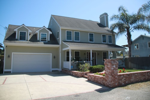 Spacious Newer Home Within Walking Distance of Secluded Beaches and Polo Fields