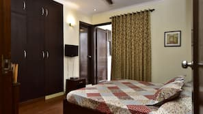 2 bedrooms, down duvets, Select Comfort beds, individually furnished