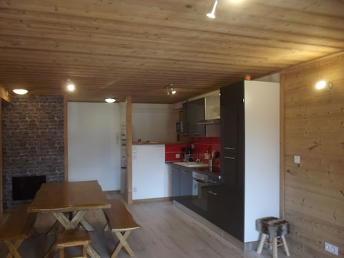 Apartment LE Chamois, Terrace Full of the Face to the Tracks, Classified Apartment