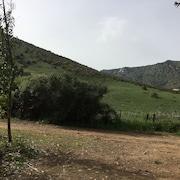 Vista sulla campagna dalla strut