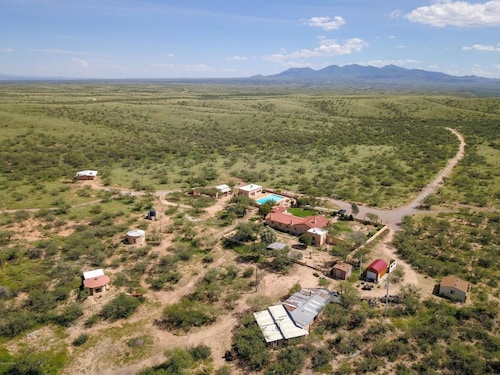 Great Place to stay Round House - The Desert Sanctuary At Rincon Peak Holiday home 1 near Benson