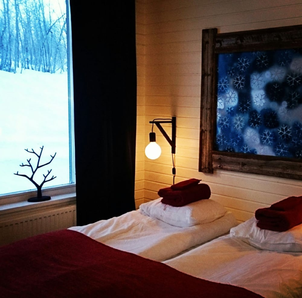 Room, Máttaráhkká Northern Lights Lodge