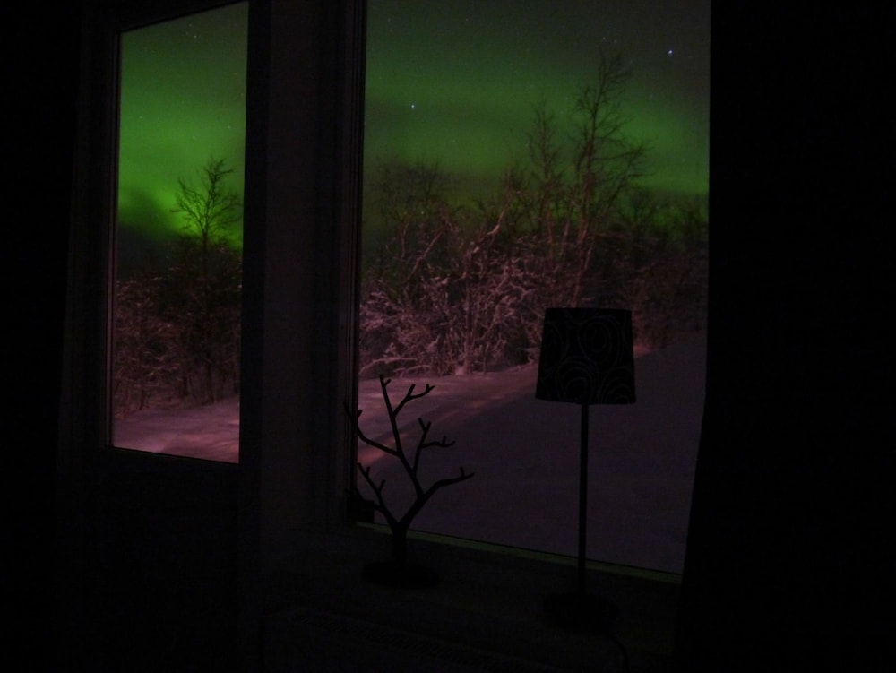View from Property, Máttaráhkká Northern Lights Lodge
