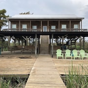 Modern River Camp Located in Akers,la Next to the Famous Sun Buns Bar and Grill