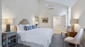 Frette Italian sheets, premium bedding, in-room safe