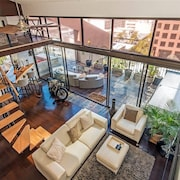 2 Bedroom 2200 SQ FT Penthouse Loft Sleeps 6