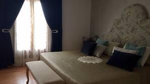 4 sovrum, gratis barnsängar, gratis extrasängar och sängkläder