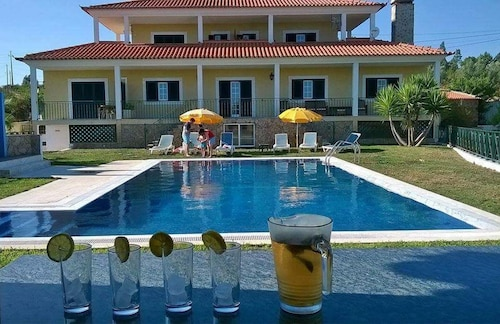 Villa With 4 Bedrooms in Vilar da Mo, Belver, With Wonderful Mountain View, Private Pool, Furnished Terrace - 10 km From the Beach
