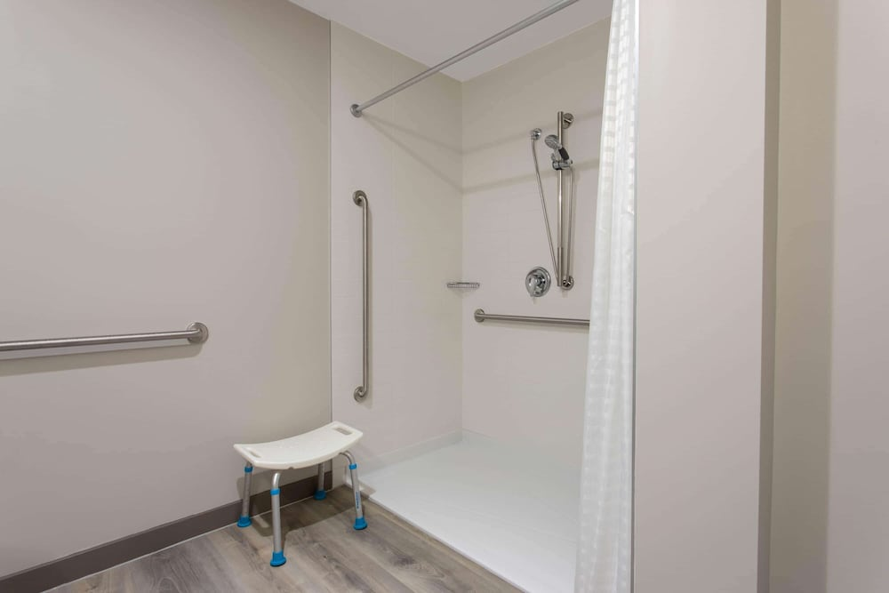 Bathroom, Microtel Inn and Suites by Wyndham Mont Tremblant