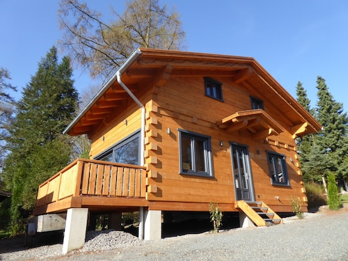 5 Star log Cabins With Sauna + Fireplace in Alpen - Chalet - Style, Comfort