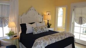 Premium bedding, individually decorated, iron/ironing board, free WiFi
