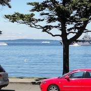 Alki Beach, Majestic Views of the Sound, Mountains & Shipping Lanes