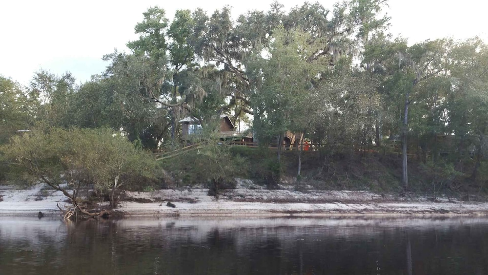 , Suwannee River Oasis! Waterfront Cabin in Paradise White Springs, Florida