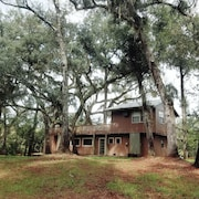 Suwannee River Oasis! Waterfront Cabin in Paradise White Springs, Florida