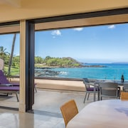 Rare Corner Beachfront Makena Surf - Stunning Panoramic Views