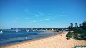해변에 위치