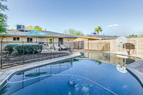 Mid-century Modern House of the City Pool Foodie's Paradise Ping Pong