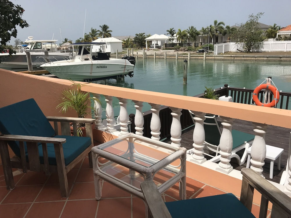 Balcony, Exceptional Waterfront Villa, Short Walk to Beautiful Secluded Beach