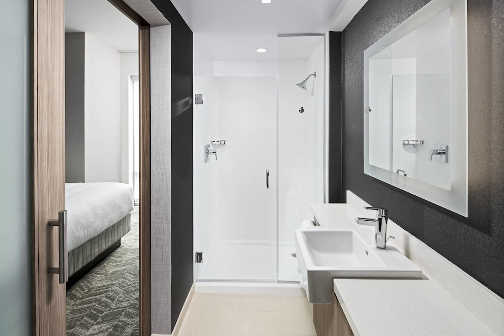 Bathroom, SpringHill Suites by Marriott Greenville Downtown