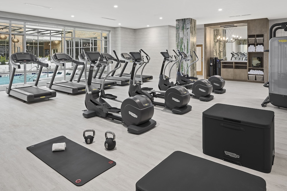 Fitness Facility, SpringHill Suites by Marriott Greenville Downtown
