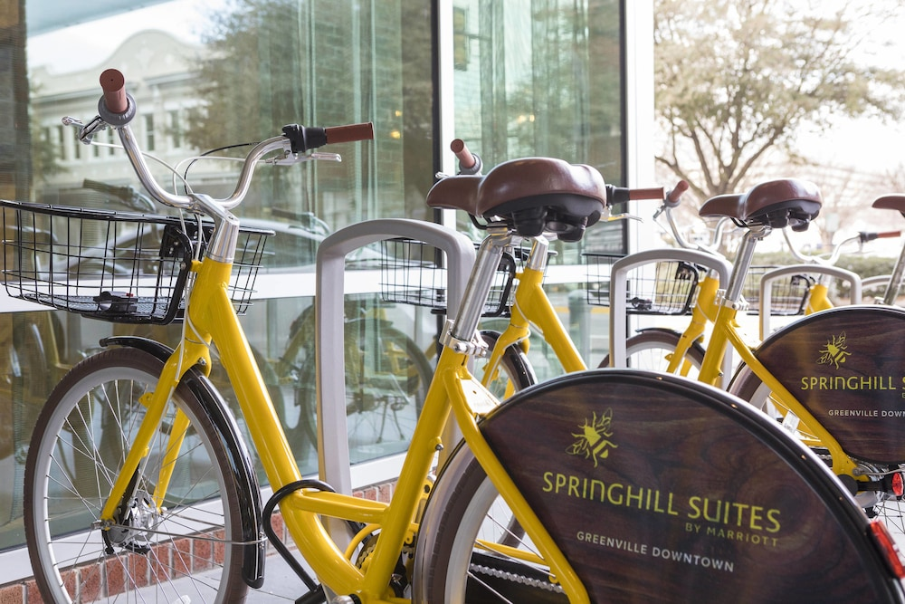 Bicycling, SpringHill Suites by Marriott Greenville Downtown
