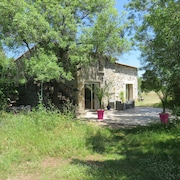Renovated Stone Farmhouse on Wooded Ground Near Lake Salagou in the Hérault