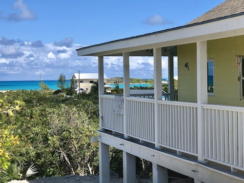 Beach Cottage Vacation Rental, Tropic of Cancer Beach, Exuma, The Bahamas