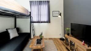 1 間臥室、設計自成一格、窗簾、免費 Wi-Fi