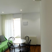 Studio in Castelldefels, With Wonderful City View, Furnished Garden and Wifi - 100 m From the Beach