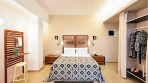 Premium bedding, iron/ironing board, free cribs/infant beds, free WiFi